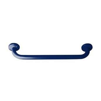 Inta 450mm Powder Coated Grab Rail with Concealed Fixings, Blue
