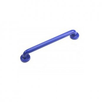 Inta 600mm Plastic Bathroom Grab Rail, Blue