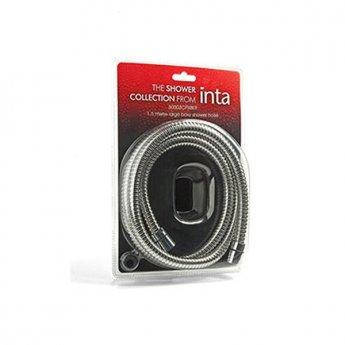 Inta 2m Shower Hose Blister Pack - Chrome