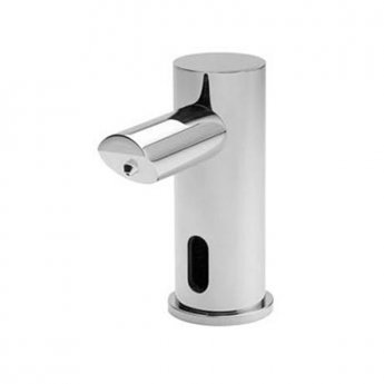 Inta Infrared Modern Deck Mounted Soap Dispenser Battery Operated, Chrome