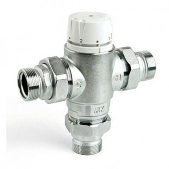 Intamix Pro Thermostatic Mixing Valve 2 with Screwed Iron