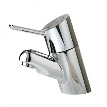 Inta Intatherm II TMV3 Thermostatic Basin Mixer Tap with Copper Tails, Chrome