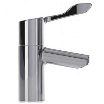 Inta Intatherm Eco Thermostatic Basin Mixer Tap with Copper Tails - Chrome