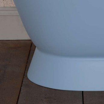 Hurlingham Montreal Cast Iron Roll Top Plinth Bath - 2 Tap Hole
