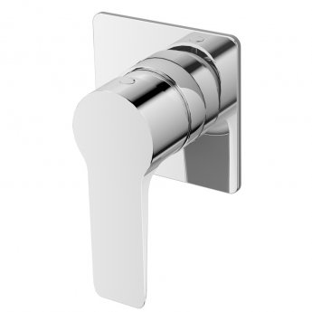 JTP Amore Single Lever Concealed Manual Shower Valve - Chrome
