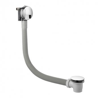 JTP Athena Triple Concealed Mixer Shower with Fixed Head + Bath Filler
