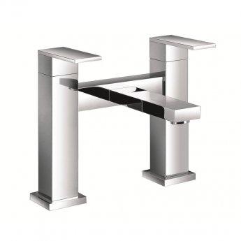 JTP Athena Bath Filler Tap Pillar Mounted - Chrome