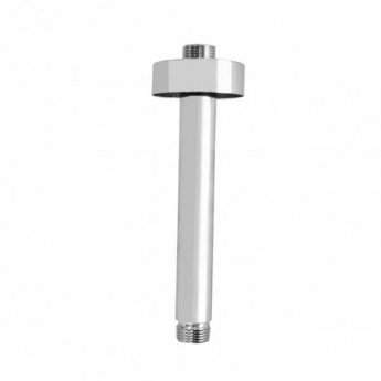 JTP Brass Ceiling Mounted Shower Arm, 100mm, Chrome