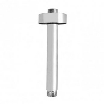 JTP Brass Ceiling Mounted Shower Arm, 150mm, Chrome