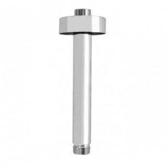 JTP Brass Ceiling Mounted Shower Arm, 200mm, Chrome