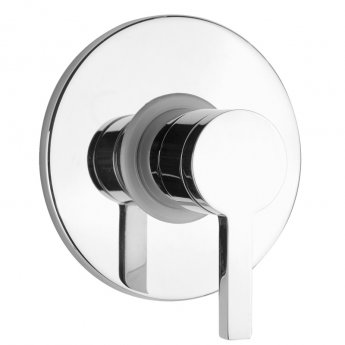 JTP Cena Single Lever Concealed Manual Shower Valve - Chrome