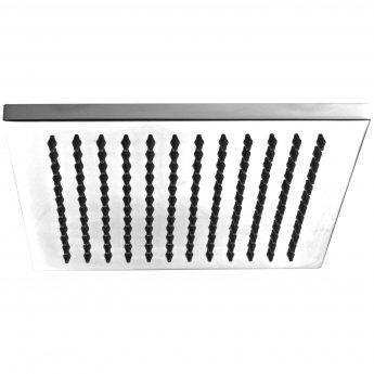 JTP Esprite Fixed Shower Head, 200mm x 200mm, Chrome