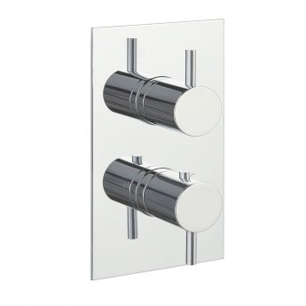 JTP Florence Dual Concealed Mixer Shower with Futura Shower Kit