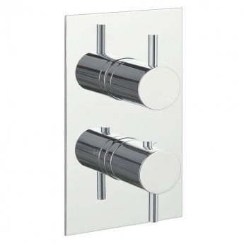 JTP Florence Dual Concealed Mixer Shower with Techno Shower Kit