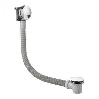 JTP Florence Triple Concealed Mixer Shower with Shower Handset + Bath Filler + Fixed Head