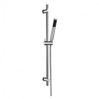 JTP Florentine Thermostatic Bath Shower Mixer Tap with Shower Rail Kit - Chrome