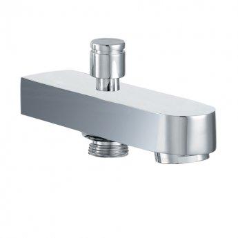 JTP Fusion Bath Spout with Diverter, Wall Mounted, Chrome