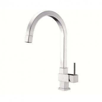 JTP Kubix Mono Kitchen Sink Mixer Tap Pull Out Spout - Chrome