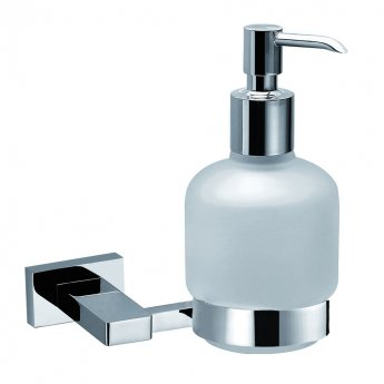 JTP Ludo Soap Dispenser and Holder, Chrome