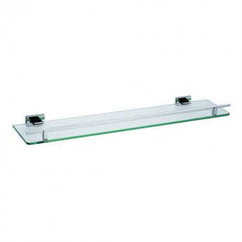 JTP Ludo Tempered Glass Shelf, Chrome