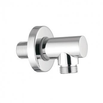 JTP Minimalist Shower Outlet Elbow, Chrome
