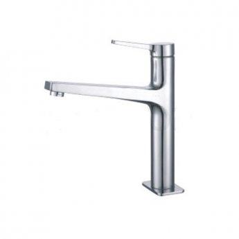 JTP Omega High Neck Kitchen Sink Mixer Tap - Chrome