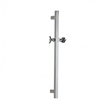JTP Quadro Shower Slider Rail, Chrome