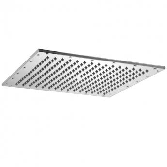 JTP Square Fixed Shower Head, 350mm x 350mm, Chrome