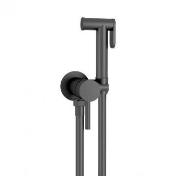 JTP Vos Douche Kit Complete With Single Lever Control - Matt Black