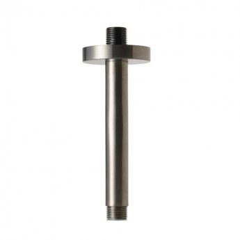 JTP Vos Ceiling Mounted Shower Arm 150mm - Brushed Black