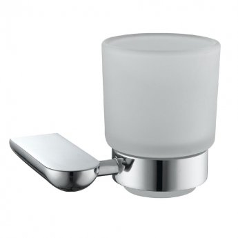 JTP Vue Modern Bathroom Tumbler Holder - Chrome