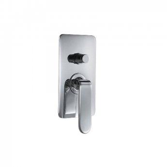 JTP Vue Concealed Shower Valve with Diverter Single Handle - Chrome