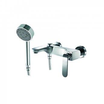 JTP Vue Bath Shower Mixer Tap Wall Mounted - Chrome