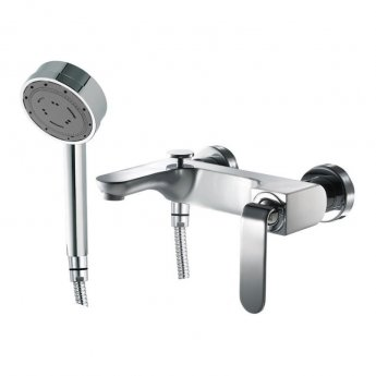 JTP Vue Bath Shower Mixer Tap Deck Mounted - Chrome