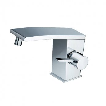 JTP Wings Bidet Mixer Tap with Pop-Up Waste Single Handle - Polished Chrome