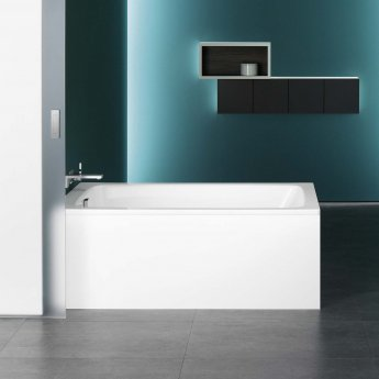 Kaldewei Cayono Rectangular Steel Bath, 1700mm x 700mm, 2 Tap Hole