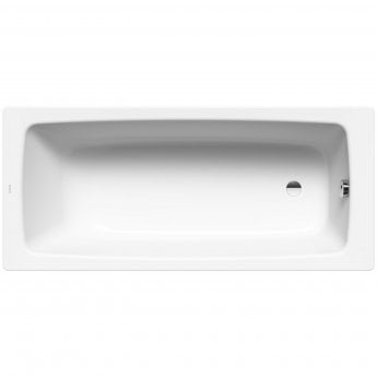 Kaldewei Cayono Rectangular Steel Bath, 1500mm x 700mm, 2 Tap Hole