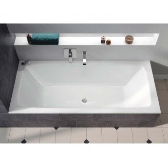 Kaldewei Cayono Duo Rectangular Bath 1800mm x 800mm - 0 Tap Hole