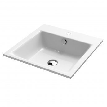 Kaldewei Puro Built-in Basin 600mm Wide - 1 Tap Hole
