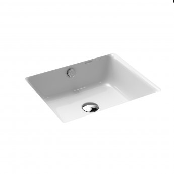 Kaldewei Puro Undercounter Basin 460mm Wide - 0 Tap Hole