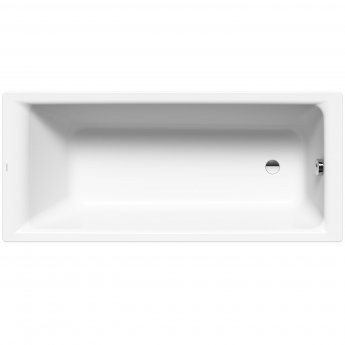 Kaldewei Puro Rectangular Steel Bath, 1800mm x 800mm, 0 Tap Hole
