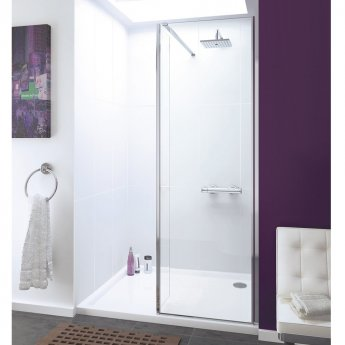Lakes Coastline Cannes Walk-In Shower Panel 2000mm H x 750mm W - 8mm Glass