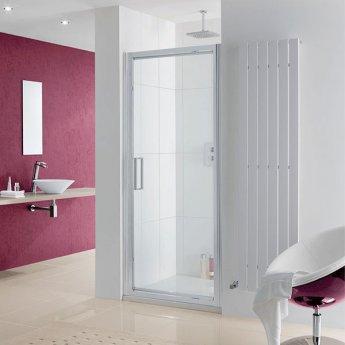 Lakes Coastline Narva Pivot Shower Door 2000mm H x 800mm W - 8mm Glass
