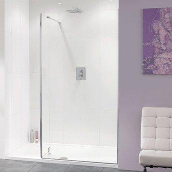 Lakes Coastline Nice Walk-In Shower Screen 2000mm H x 1000mm W - 10mm Glass