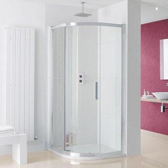 Lakes Coastline Sorong Quadrant Shower Enclosure 1000mm x 1000mm - 8mm Glass
