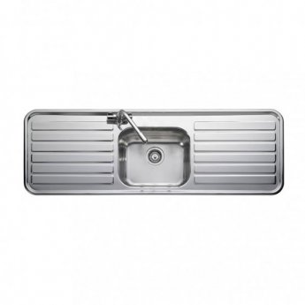 Leisure Luxe Kitchen Sink Lx155 1 Bowl Stainless Steel