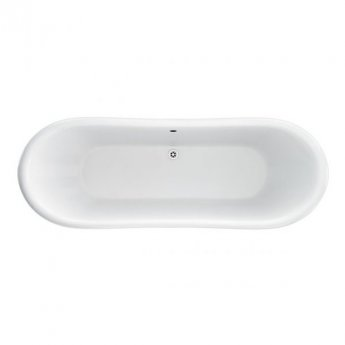 Burlington Admiral Roll Top Freestanding Bath 1775mm x 885mm - Including Surround