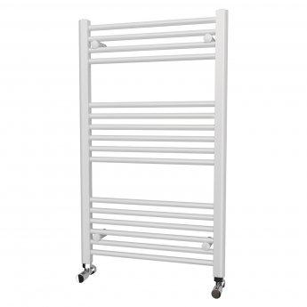 MaxHeat Falmouth Straight Towel Rail 1000mm High x 600mm Wide, White