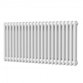 MaxHeat Octavius 2 Column Horizontal Radiator 500mm H x 988mm W - White