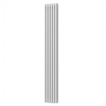 MaxHeat Octavius 3 Column Vertical Radiator 1800mm H x 287mm W - White